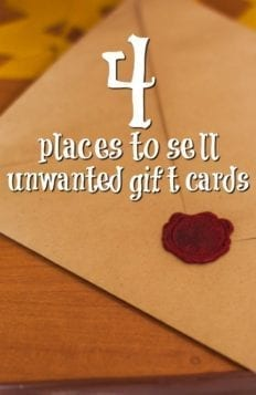 How to Make Extra Cash By Selling Your Unused Gift Cards