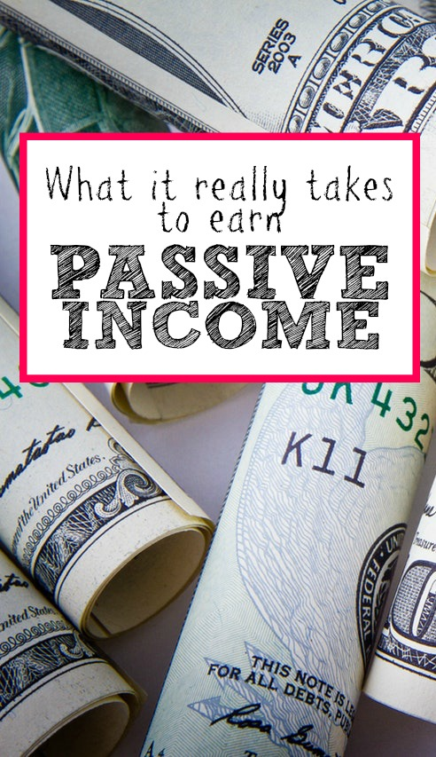 If you're looking to build a solid source of passive income over the next few years, here are 4 things you'll really need.