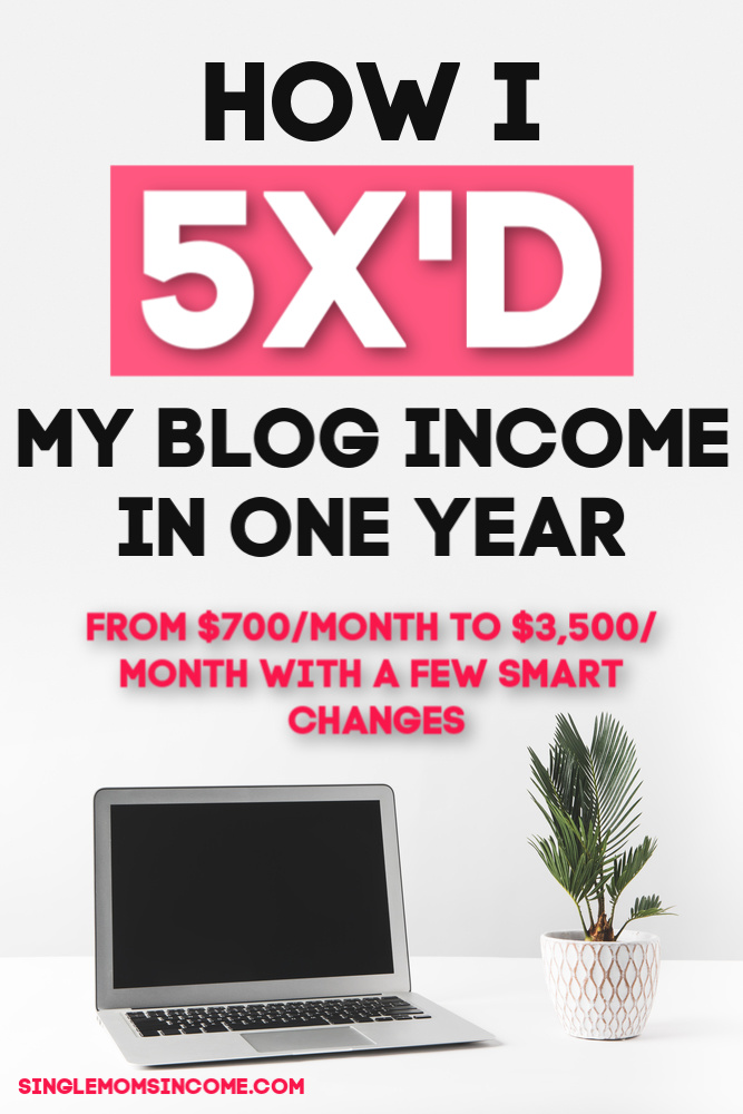 How I increased my blog income. I can't beleive I didn't do these things sooner!