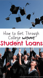 How to Get Through College Without Taking Out Student Loans