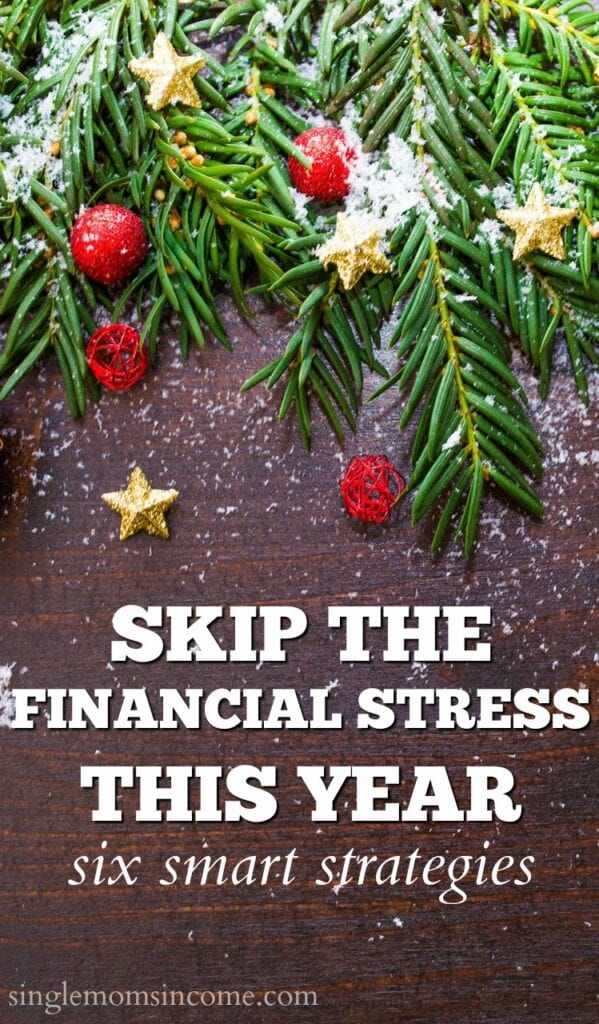 Christmas can be stressful and financially draining. Don't stress over money this Christmas use these six strategies instead.