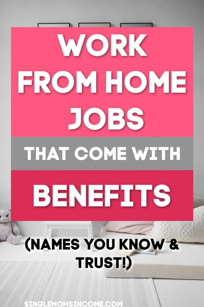 Can you beleive these work from home companies offer benefits?