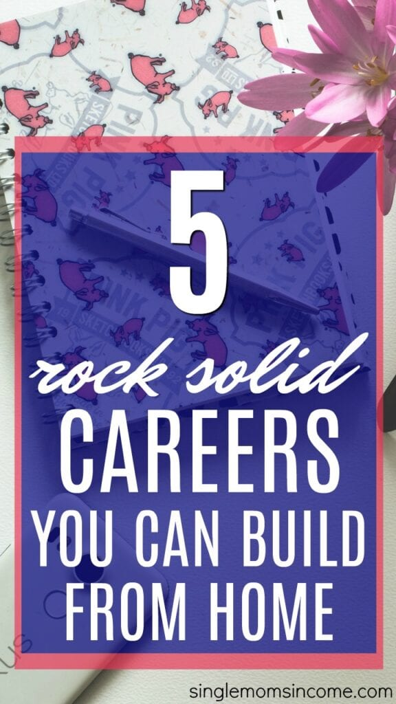 Looking for careers you can build from home? These five jobs are flexible, professional, and can bring in a full-time income while working at home.