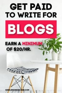 Get paid to write for blogs - step by step instructions + free worksheets!!