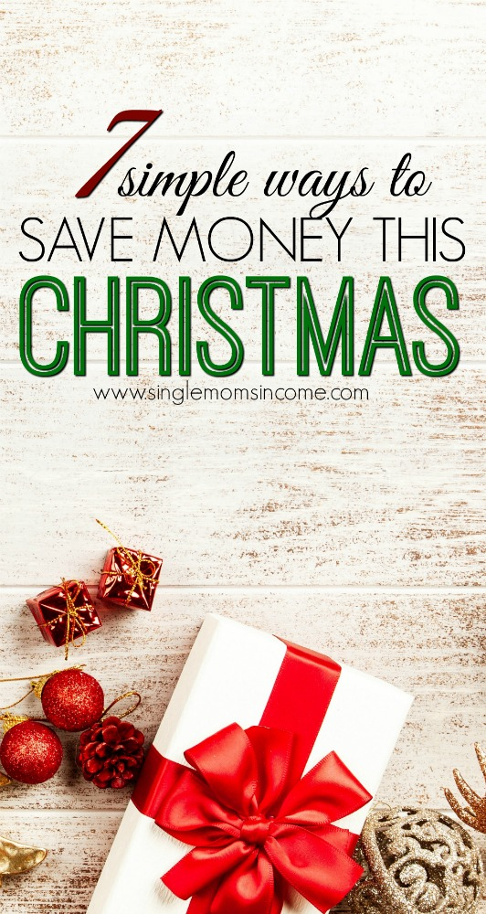 Don't start stressing just yet and instead focus on simplifying and saving money. Here are 7 simple ways to save money this Christmas. #Christmas #Budget