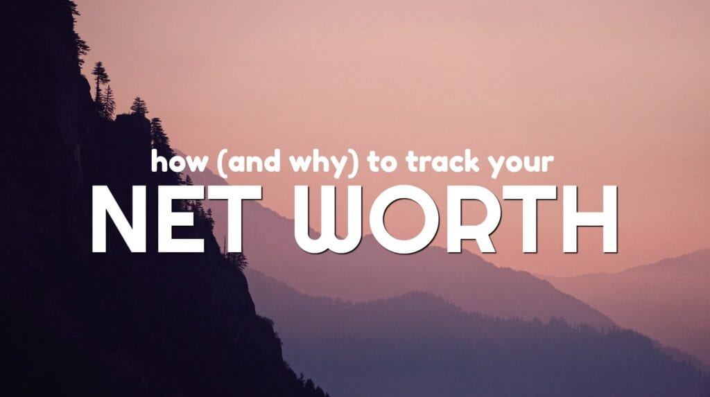 Your net worth IS important. It's a great snapshot of where you are financially and is a number you can easily track. Here's the tool I use to keep track of my net worth for free.