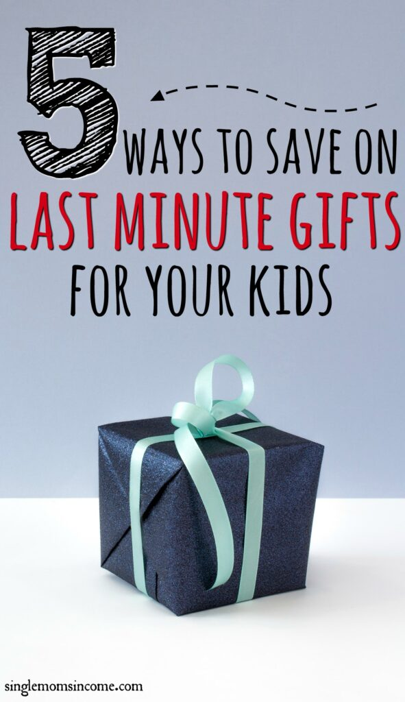 Still shopping for the kiddos? No problem. Here are five smart strategies for how to save money on last minute Christmas gifts.