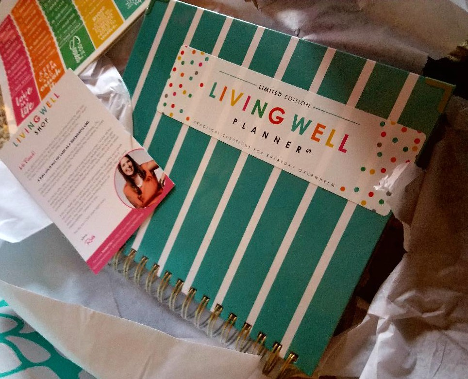 The living well planner.
