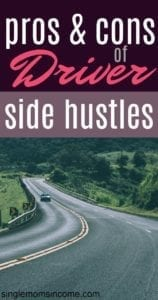 Pros and Cons of Driver Side Hustles