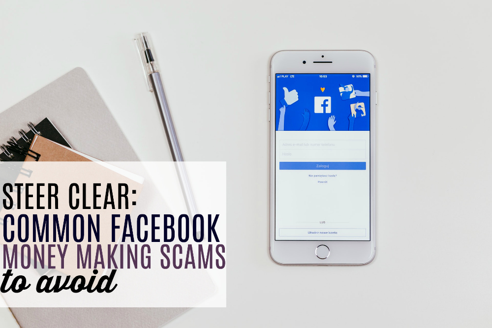 Facebook Money Making Scams to Avoid