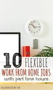 10 Flexible, Part Time Work from Home Jobs