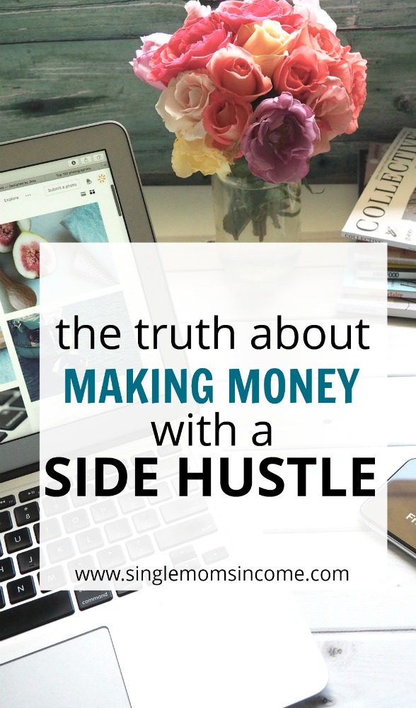 Thinking of starting a side hustle? Here's the truth about starting a side hustle and three key points to consider before choosing an idea.