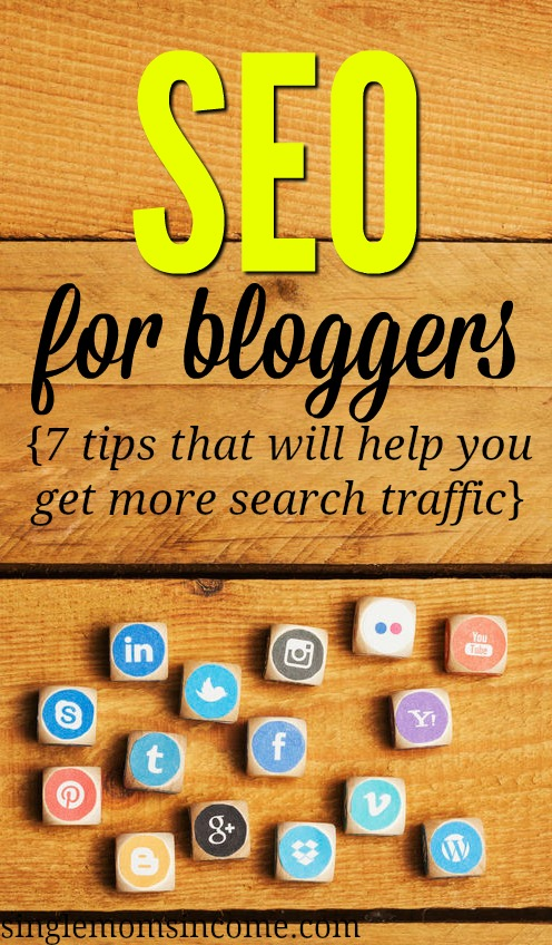 Are you making search engine optimization more complicated than it needs to be? Here's how to do SEO for bloggers - 7 solid strategies that will help you get more search traffic. #bloggingtips #SEO #bloggers