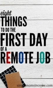 Do This On Your First Day of a Remote Job