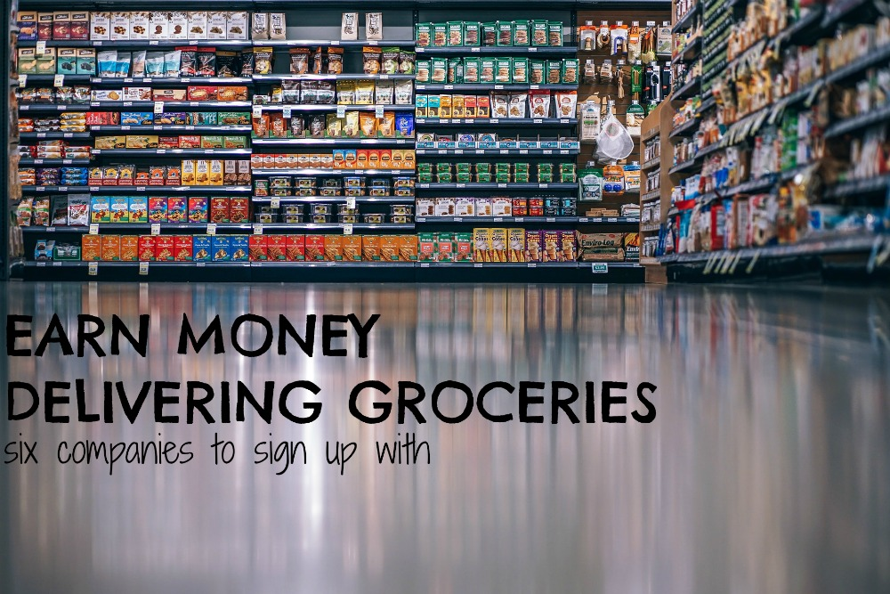 How to Make Money Delivering Groceries