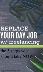 Did you know that more than 50% of millennials are freelancers? If you, too, are ready here's how to replace your daytime job with freelancing.