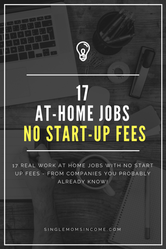 No scam work from home jobs