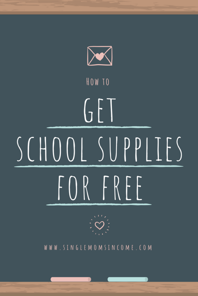 I fully intend to spend $0 on school supplies this year. Here's how to get school supplies for free.