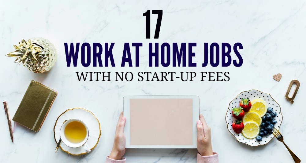 how to start work from home job