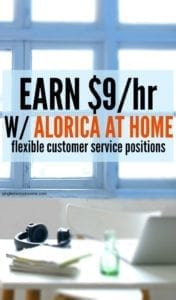 Alorica at Home hires flexible work from home customer service positions. Find out basic job duties, technical requirements, pay and more. #workfromhome #sidehustle #legitworkfromhomejobs