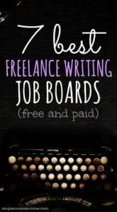 7 Best Freelance Writing Job Boards