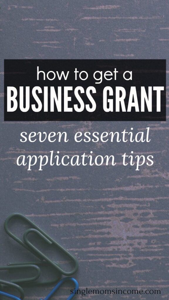 Are you a female entrepreneur looking for a grant? Before you apply read these seven application tips from a past grant winner.