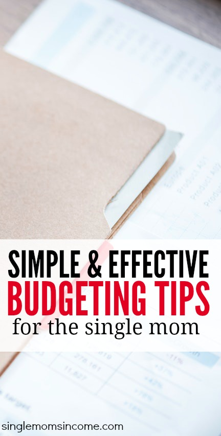 Budgeting as a single parent can be a real challenge. (I've been there.) But there are certain steps that can help you get the most out of your money.