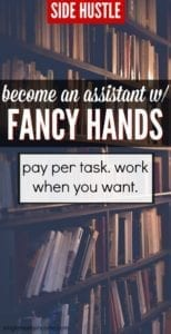 Want to test the waters with virtual assistant work? Fancy Hands allows assistants to work as much as they want, when they want.  #sidehustle #workfromhome