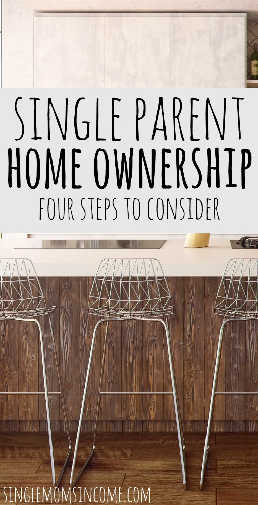 Even though single parent homeowners are the minority doesn't mean you can't own your own home. Here's how single moms can buy a home. #downpayment #homebuying #singlemom