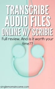 Scribie Review: Get Paid to Transcribe Audio Files