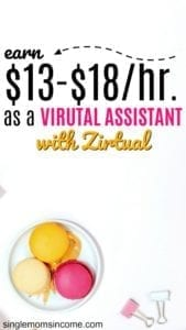 Do you think you'd make a great virtual assistant? If so, one company that hires virtual assistants (and pays well) is Zirtual.