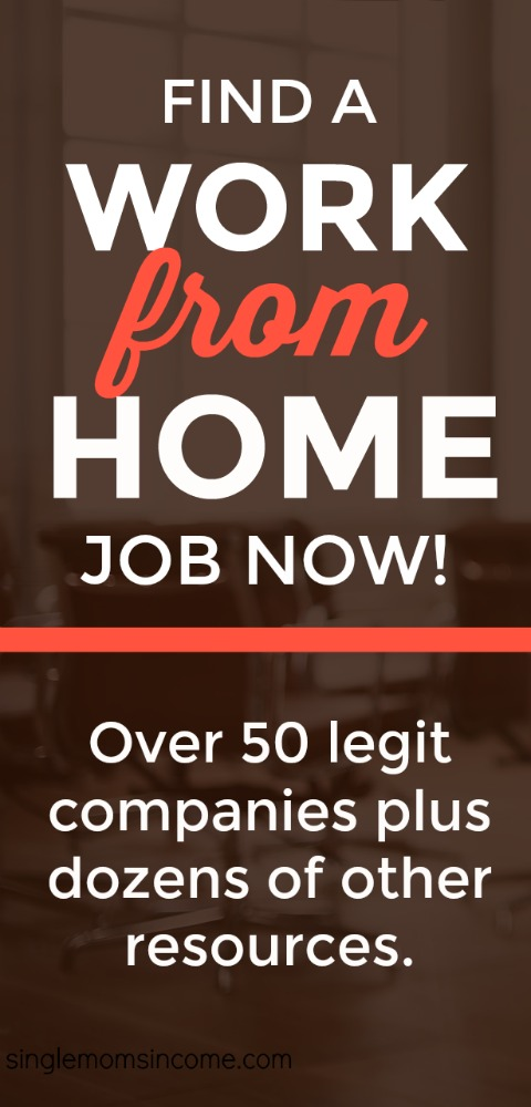 If you're looking for a legit work from home job this post has over 50 of them. Find a company who will hire you today. #sidehustle #workfromhomejobs #legitworkfromhome #wah