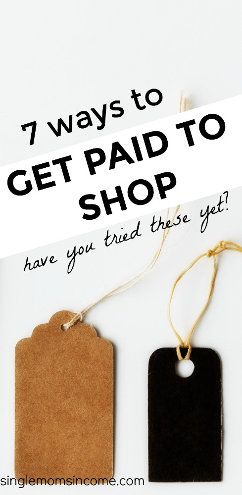 Ever wanted to get paid to shop? If it seems like an unlikely perk, you're wrong. #SAVEMONEY #FRUGAL