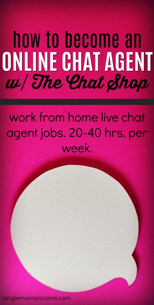If you enjoy customer service but hate the phone you may like online chat agent jobs. The Chat Shop hires work from home contractors for this position. #workfromhome #chatjobs #WAH #Sidehustle