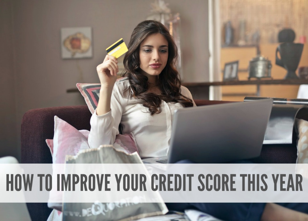 Just because your credit score isn't where you want it doesn't mean it has to stay that way! Here are five things to do this year for a better credit score.