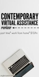 Contemporary Virtual Assistance Review – (Work at Home, $10/hr.)