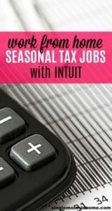 If you're a tax epert and looking for a work from home job this time of year you can find seasonal tax jobs with intuit. We're covering two popular options. #workfromhome #taxjobs