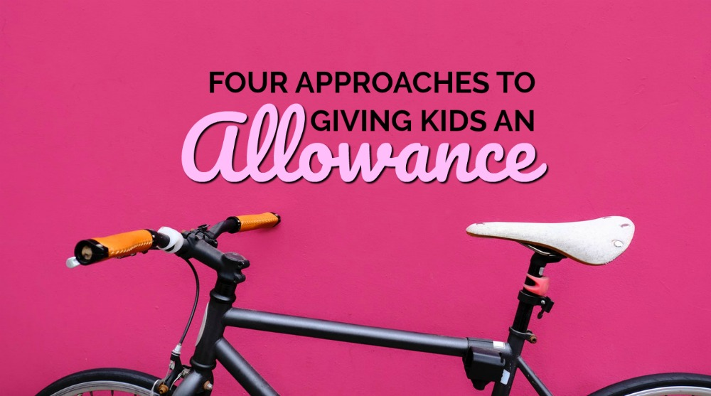 Don't know which approach you should take? Here are four ways to give kids an allowance. It's up to you to decide which works best for your family!