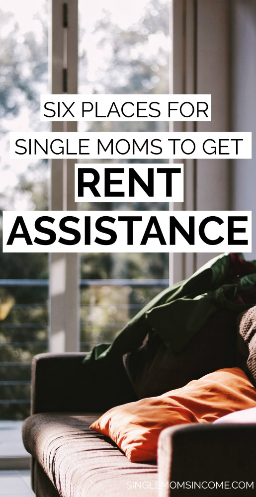 Taking care of everything solo can be TOUGH. So, where can single mothers get rent assistance from? Here are some of the most trusted resources. #singlemoms #personalfinance #rentassistance