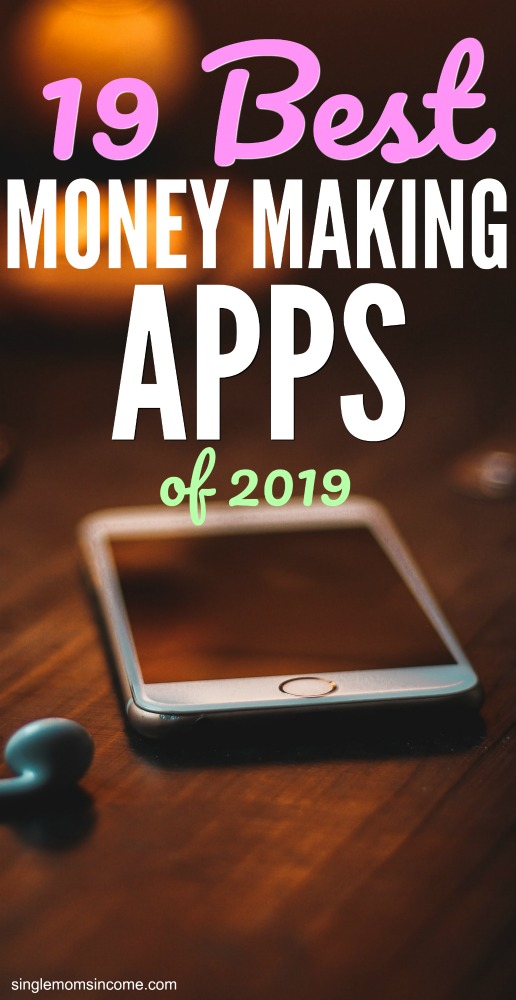 It seriously couldn't be easier to make extra money these days. Here are the best money making apps of 2019. (Lots of variety!) #earnmoney #moneymakingapps #sidehustle #extraincome