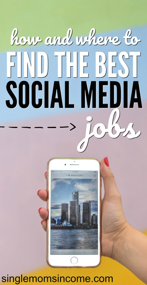 Looking for a social media job? Well, you're in luck because they are everywhere. Here's where to look and what you can expect to find. #workfromhome #socialmediajobs