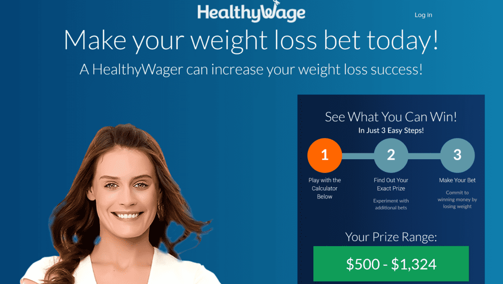 Win money with the Healthy Wage app.