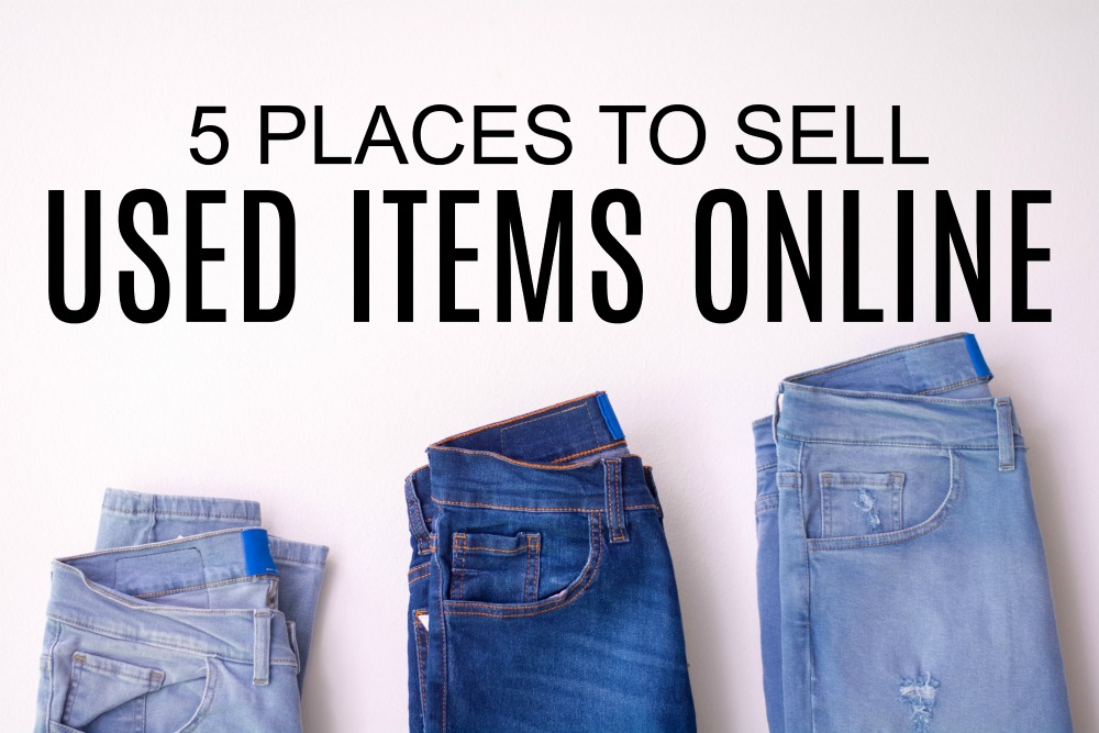 Are you in the middle of Marie Kondo-ing your house? If so, check out these five places to sell used items online for extra money.