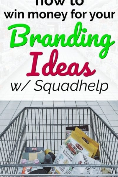 Do you always have ideas for brand names or cool taglines? If so you could win money for them! Learn more in our Squadhelp review. #sidehustle