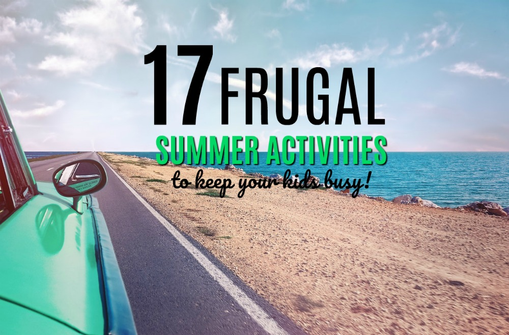 Looking to keep your kids busy this summer without breaking the bank? Here are 17 frugal summer activities your kids will love!