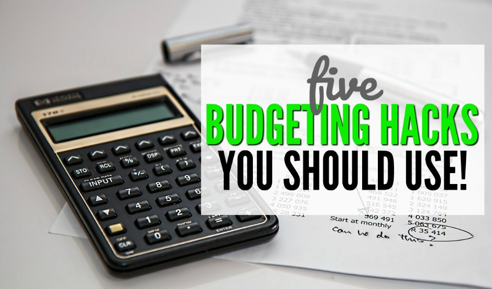 The trick is to make budgeting an easy and enjoyable task so you stick with it. Check out these 5 easy budgeting hacks to get more for your money!