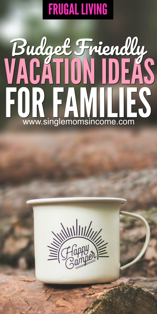 summer vacations don't have to cost a ton of money and you can make them frugal when you're trying to enjoy a family trip. Here are some of my favorite budget-friendly summer vacation ideas for families. #vacation #frugal #budgetvacation