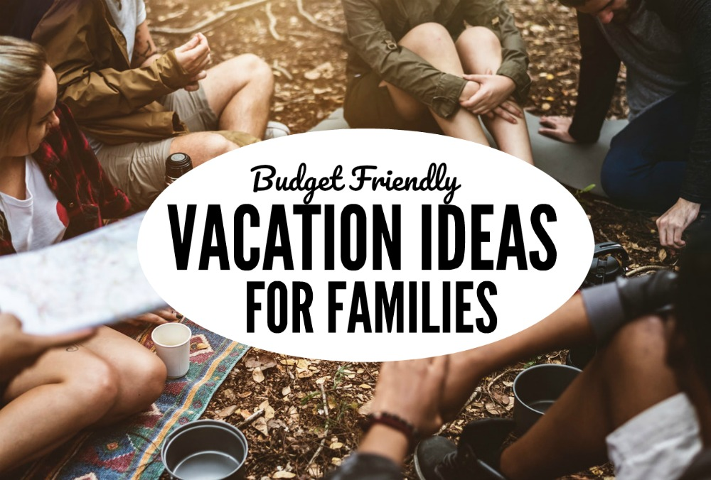 summer vacations don't have to cost a ton of money and you can make them frugal when you're trying to enjoy a family trip. Here are some of my favorite budget-friendly summer vacation ideas for families.