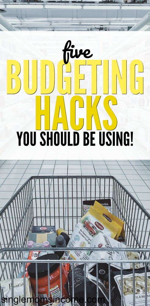 The trick is to make budgeting an easy and enjoyable task so you stick with it. Check out these 5 easy budgeting hacks to get more for your money! #budgeting #personalfinance
