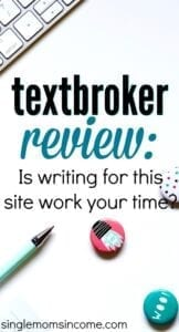 Looking for some extra work? Find out if writing for this content mill is worth your time in our Textbroker review. Pay, jobs types, and more. #writing #freelancewriting